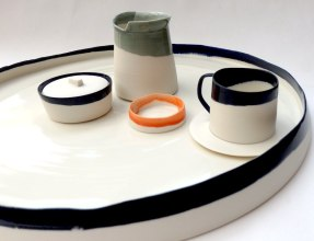 drinking set; porcelain