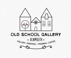 old school gallery logo